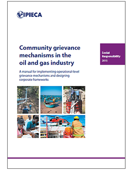 Community grievance mechanisms cover
